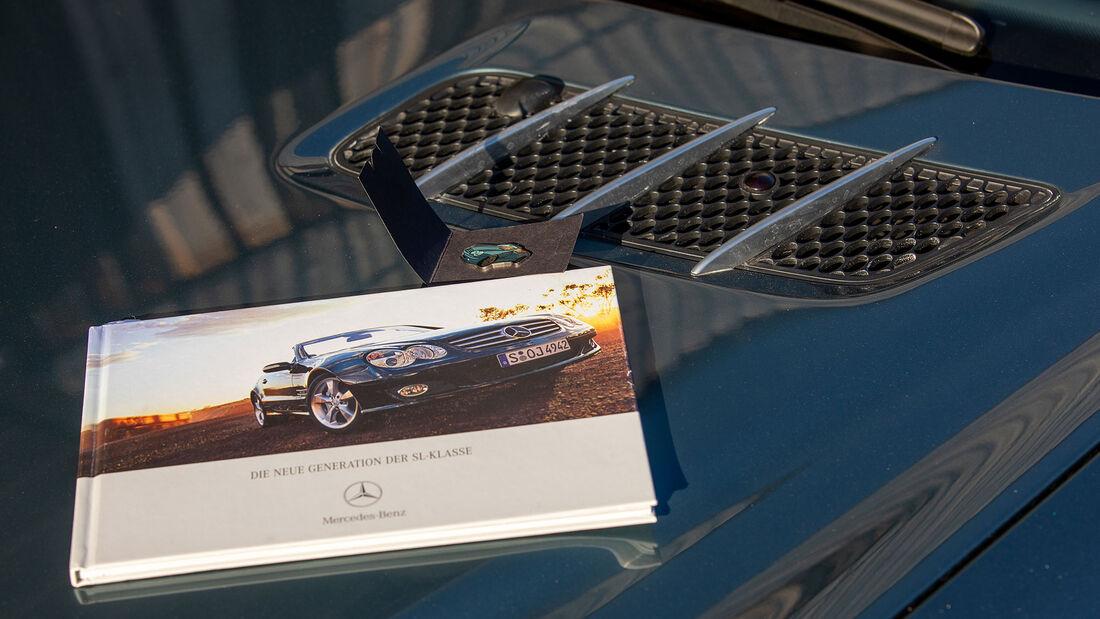 Mercedes-Benz SL, R 230, (2001-2011), Lüftungsgitter, Buch