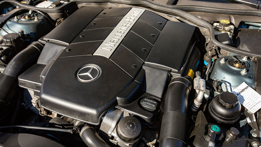 Mercedes-Benz SL, R 230, (2001-2011), Motor