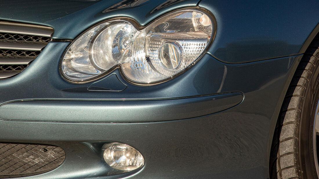 Mercedes-Benz SL, R 230, (2001-2011), Scheinwerfer