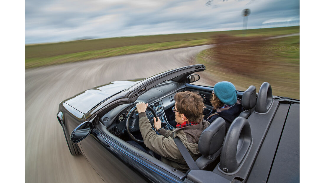 Mercedes-Benz SLK 200 Kompressor, Cockpit, Fahrersicht