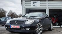 Mercedes-Benz SLK 200 Kompressor, Frontansicht