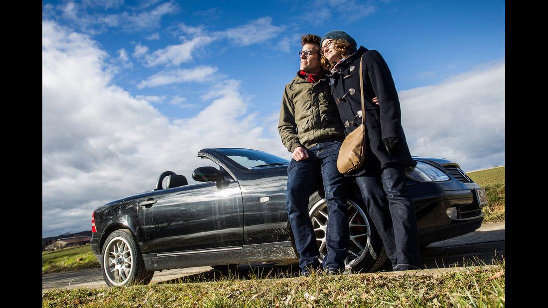 Mercedes-Benz SLK 200 Kompressor, Seitenansicht
