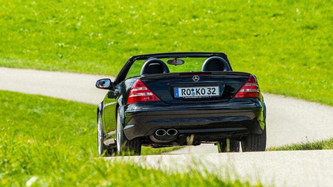 Mercedes-Benz SLK 32 AMG, Exterieur
