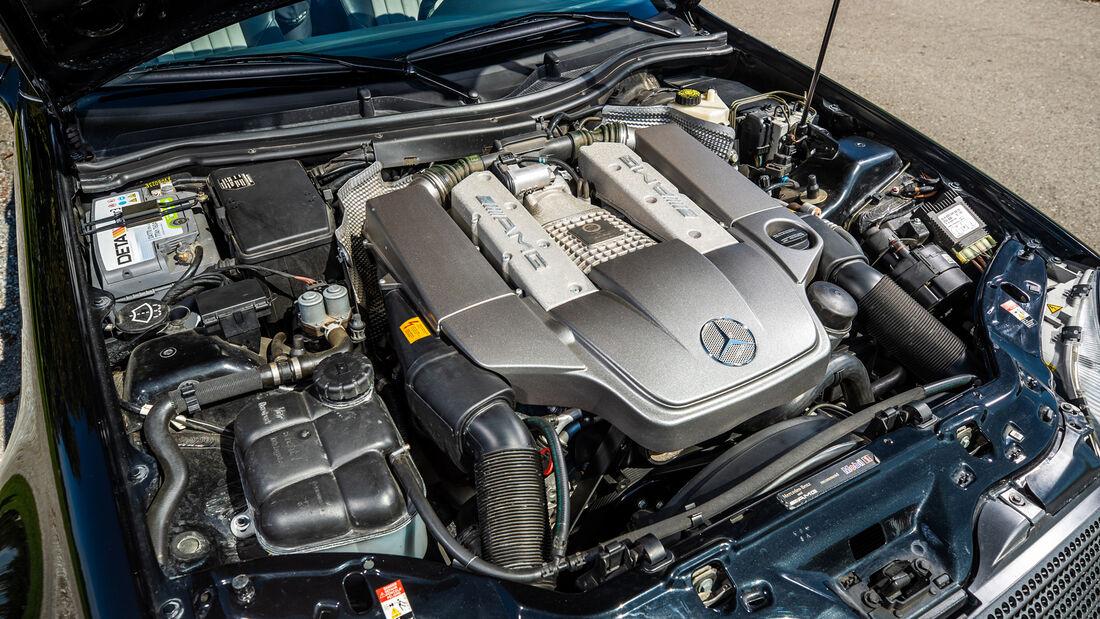Mercedes-Benz SLK 32 AMG, Motor