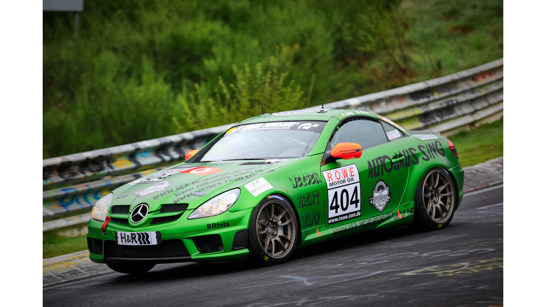Mercedes-Benz SLK 350 - Startnummer #404 - V6 - VLN 2019 - Langstreckenmeisterschaft - Nürburgring - Nordschleife