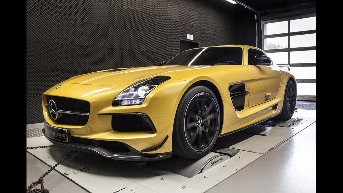 Mercedes Benz SLS AMG Black Series, Tuning, mcchip-dkr