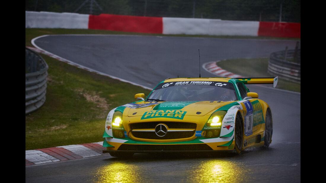 Mercedes-Benz SLS AMG GT3 - Car Collection Motorsport - #31 - Bewerber/Fahrer: Peter Schmidt, Alexander Mattschull Pierre Ehret - 24h Nürburgring  - Donnerstag - 1. Qualifying - 14.5.2015