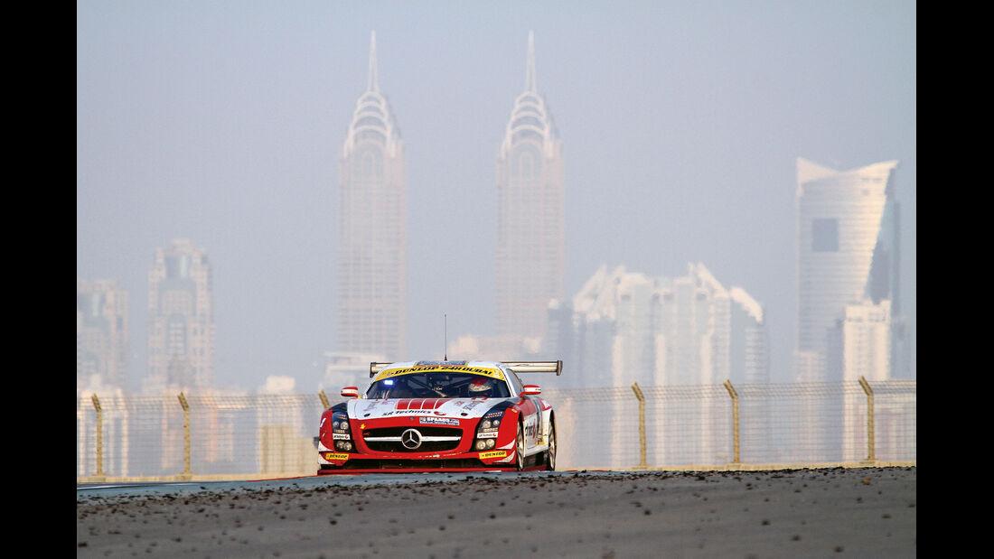 Mercedes-Benz SLS AMG GT3, Dubai, 24-h-Rennen