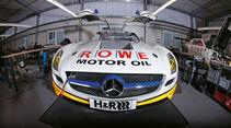 Mercedes-Benz SLS AMG GT3, Front, Kühlergrill