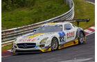 Mercedes-Benz SLS AMG GT3 - ROWE Racing - Startnummer: #22 - Bewerber/Fahrer: Maro Engel, Jan Seyffarth, Renger van der Zande, Thomas Jäger - Klasse: SP9 GT3