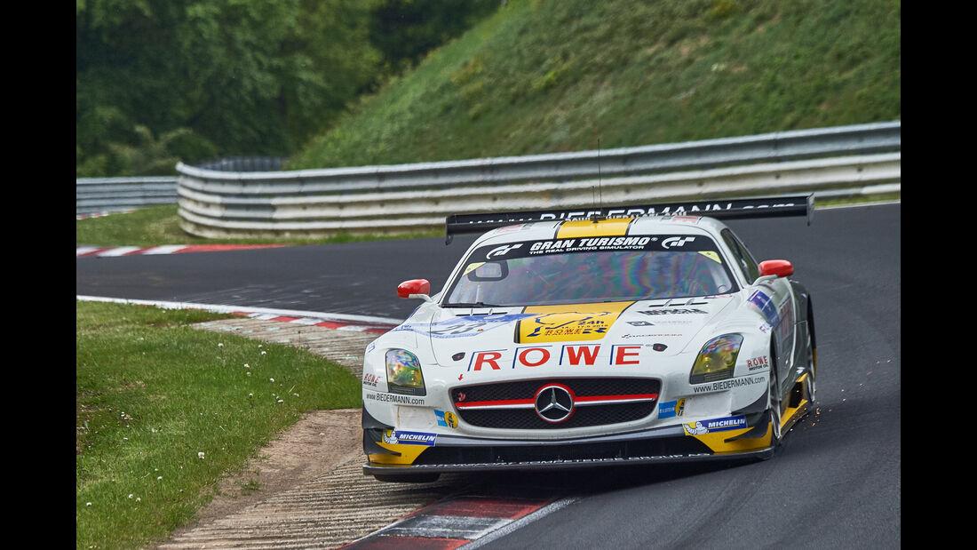 Mercedes-Benz SLS AMG GT3 - Startnummer: #23 -  24h-Nürburgring 2015 - Donnerstag