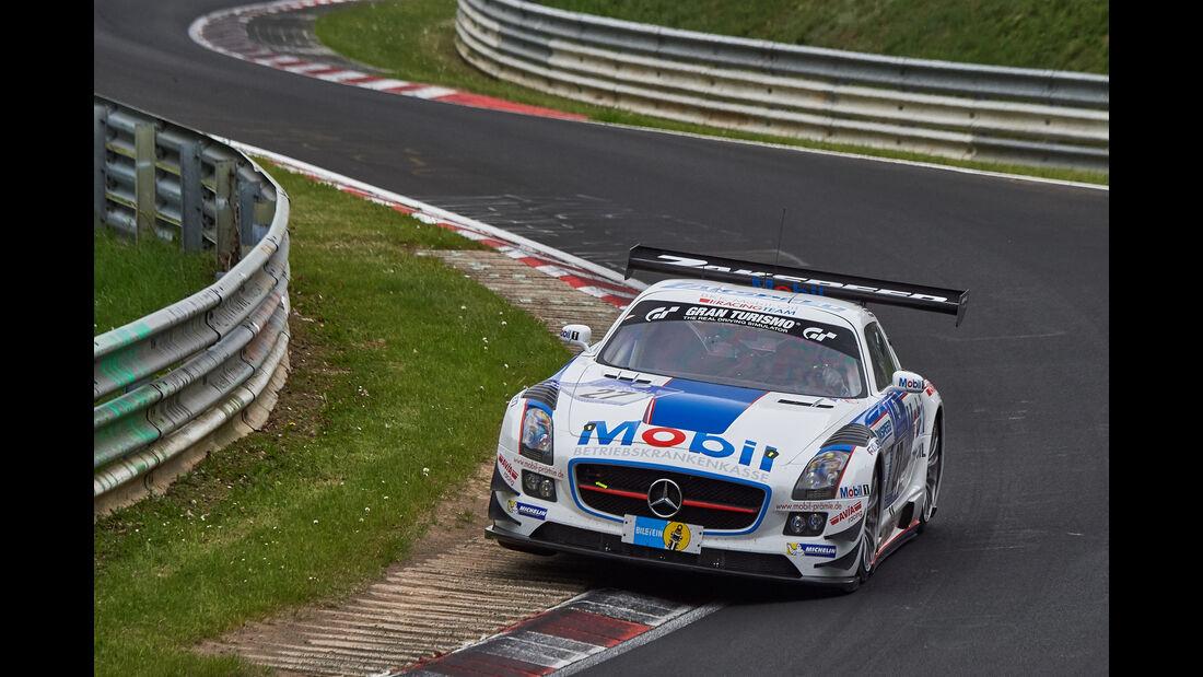 Mercedes-Benz SLS AMG GT3 - Startnummer: #27 -  24h-Nürburgring 2015 - Donnerstag
