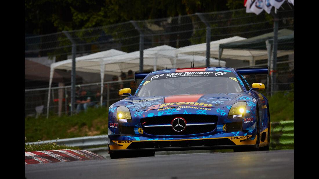 Mercedes-Benz SLS AMG GT3 - Startnummer: #33 -  24h-Nürburgring 2015 - Donnerstag