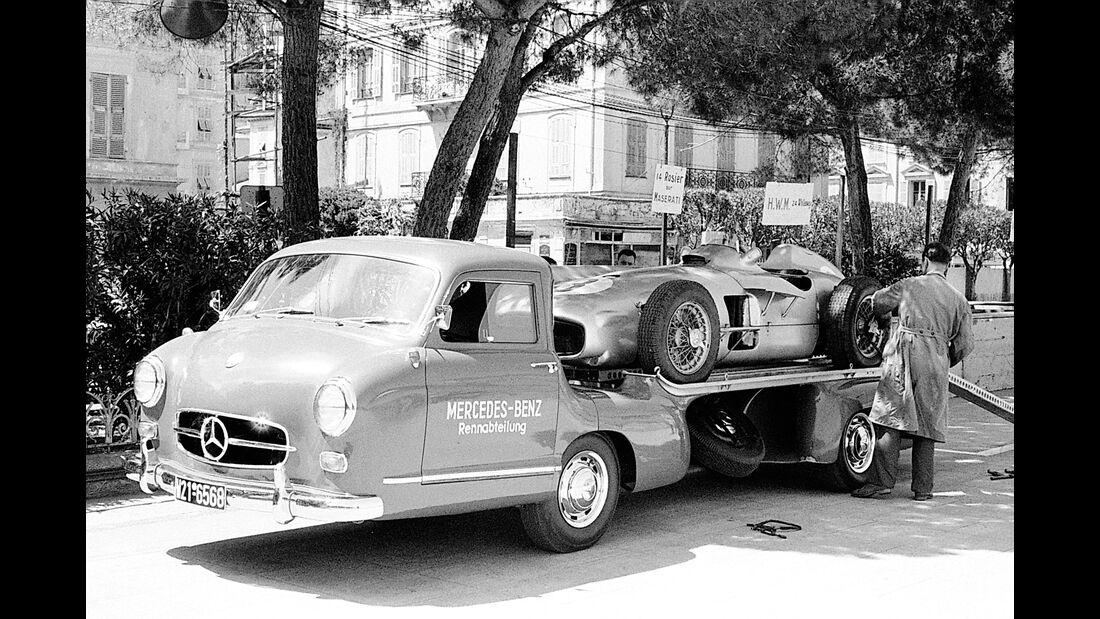 Mercedes-Benz Schnellrenntransporter - W 196 R Monoposto - GP Monaco 1955
