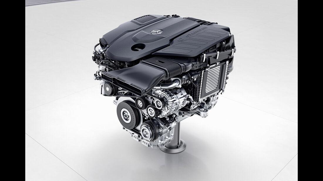 Mercedes-Benz Sechszylinder-Dieselmotor, OM656Mercedes-Benz six-cylinder diesel engine, OM656