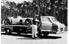 Mercedes-Benz Silberpfeil-Transporter