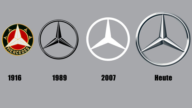Mercedes Benz Stern Logo Entwicklung