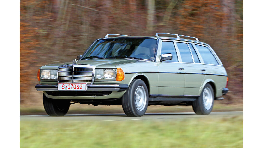 Mercedes-Benz T-Modell, Frontansicht