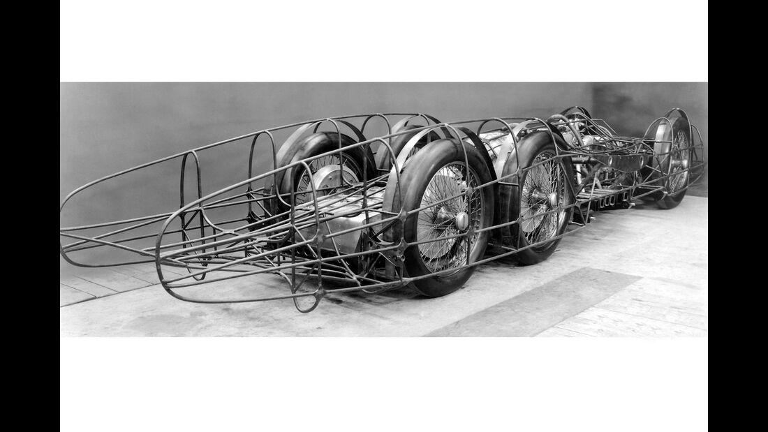 Mercedes-Benz T80 Rekordwagen Oldtimer