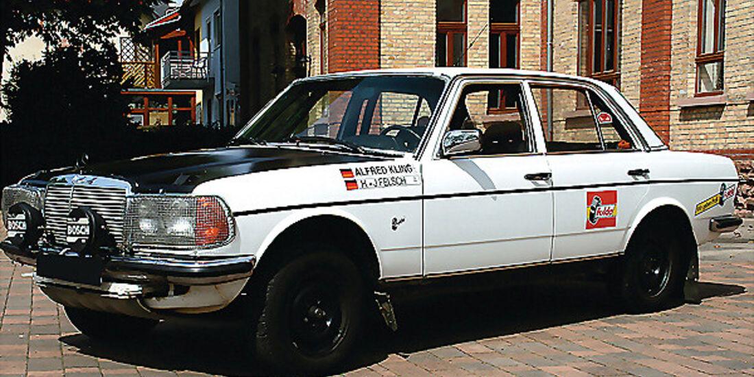 Mercedes Benz Typ 280 E (W123) - Werksrallyewagen