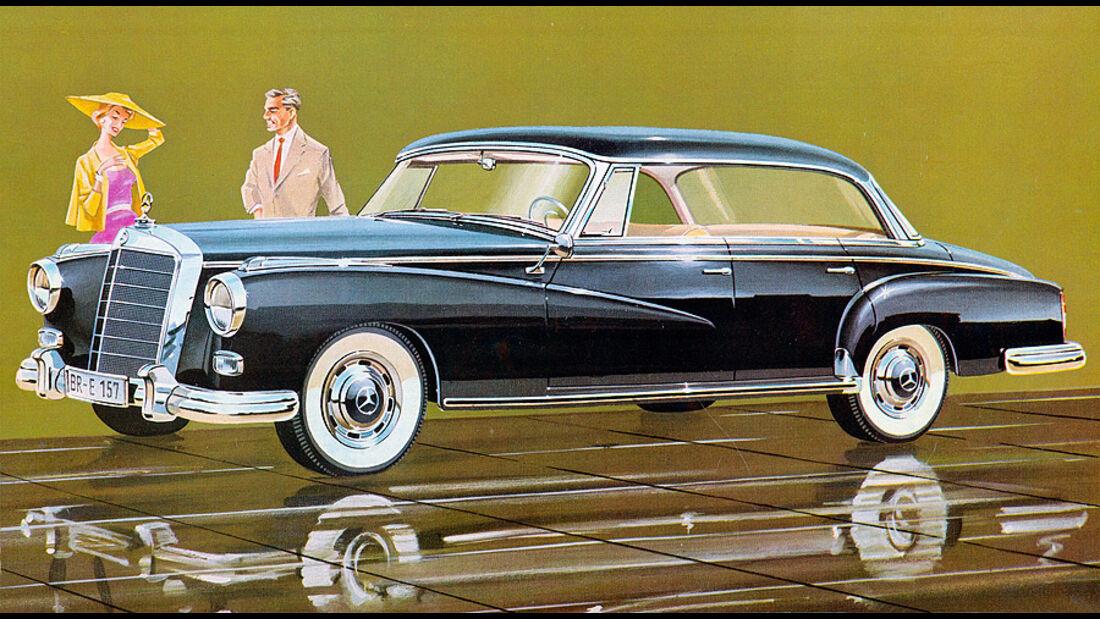 Mercedes-Benz Typ 300 (Baureihe W 186 II, 1951 bis 1954)