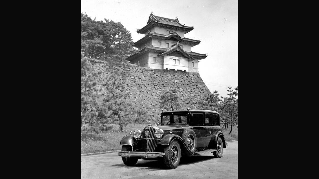 """Mercedes-Benz Typ """"Großer Mercedes"""" (Baureihe W 07, 1930 bis 1938)"""