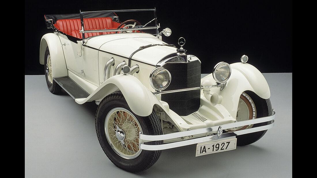 """Mercedes-Benz Typ S - Rennwagen -Spitzname """"Weißer Elefant"""""""