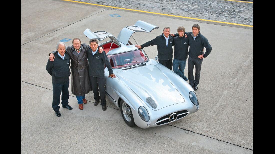 Mercedes-Benz Uhlenhaut Coupé, Dieter Glemser, Jochen Mass, Roland Asch, Hans Herrmann, Nick Heidfeld, Bernd Schneider