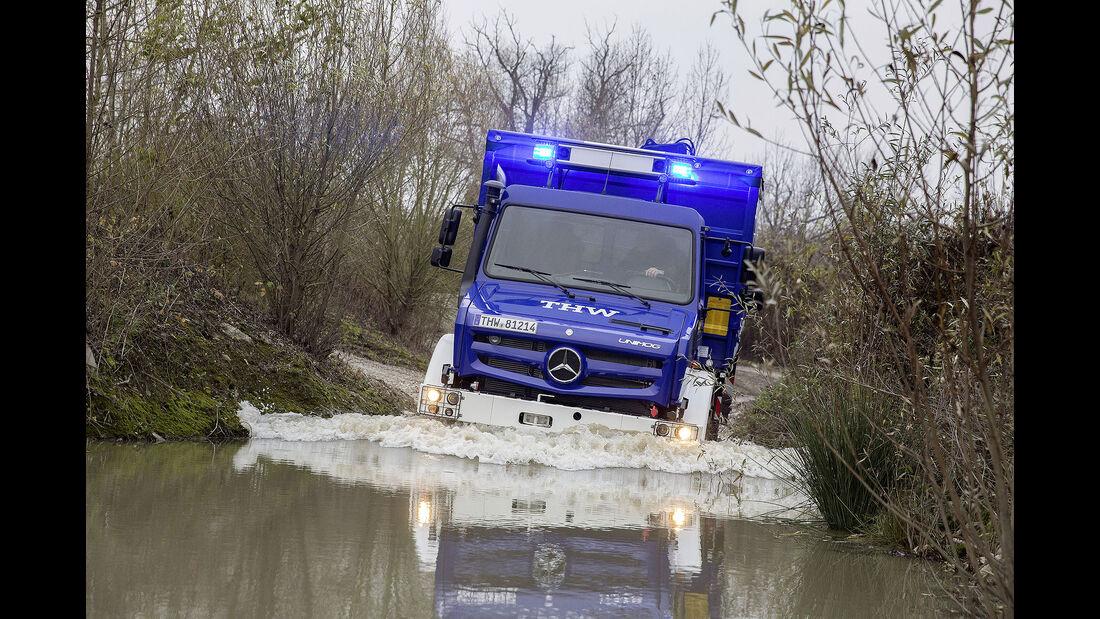 Mercedes-Benz Unimog hochgeländegängig Euro VI U 4023/U 5023 - THW Technisches Hilfswerk