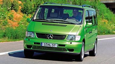 Mercedes-Benz V-Klasse, Frontansicht