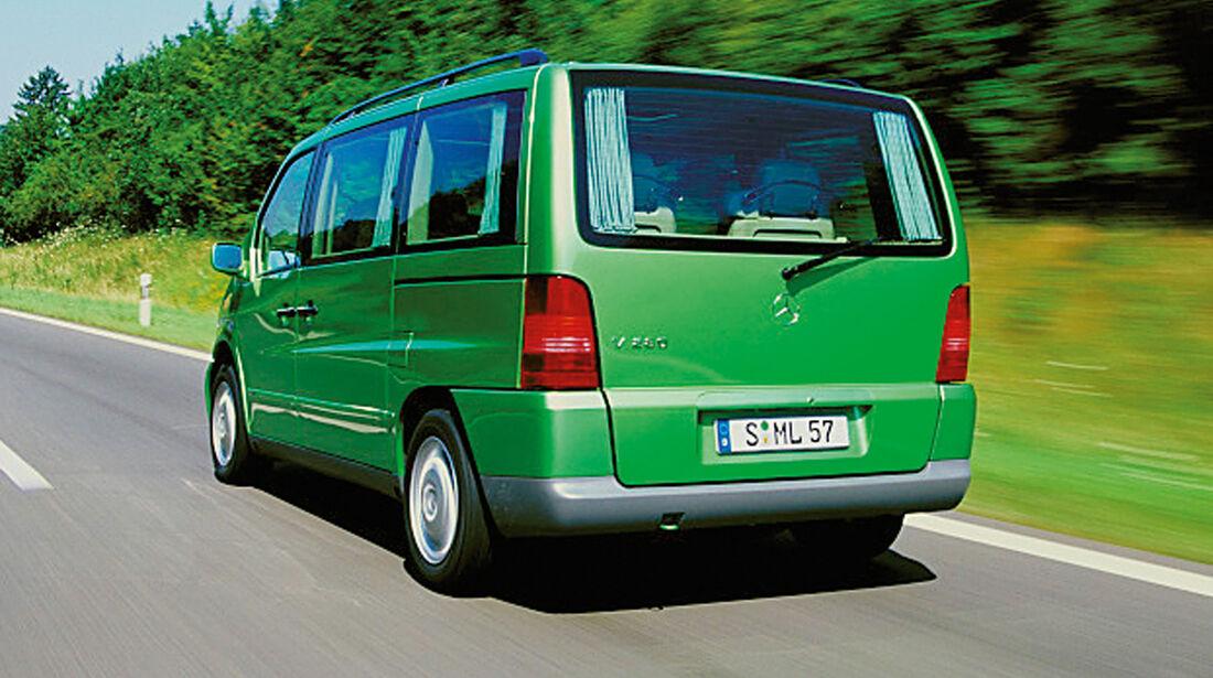 Mercedes-Benz V-Klasse, Heckansicht