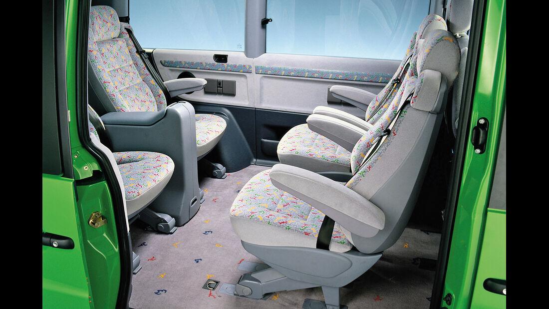 Mercedes-Benz V-Klasse, Interieur