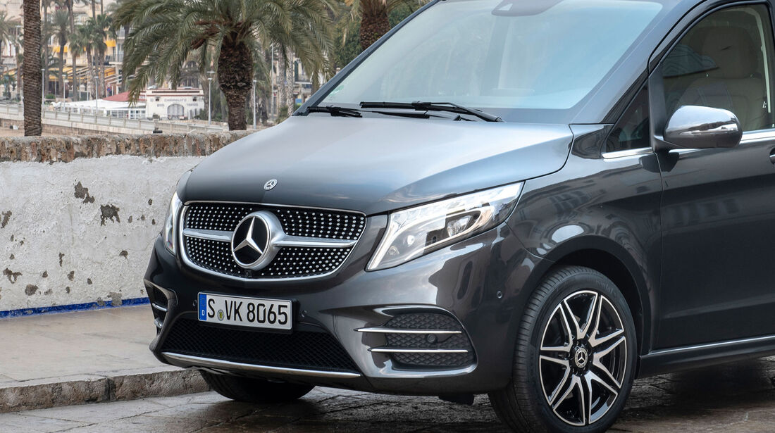 Mercedes-Benz V300d 4Matic, Diamantgrill