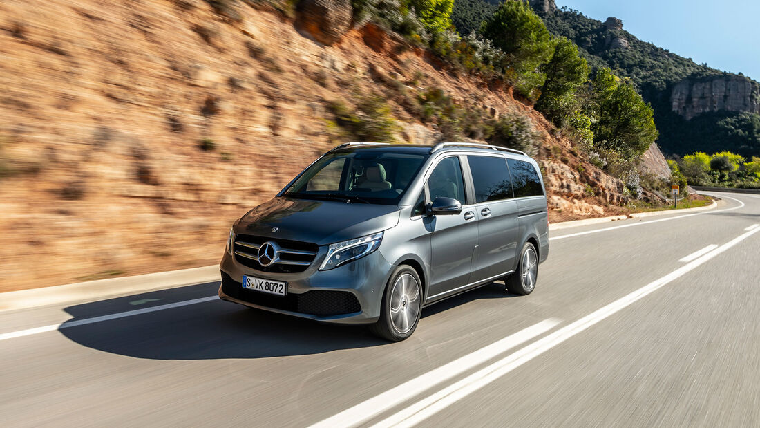 Mercedes-Benz V300d 4Matic, Front