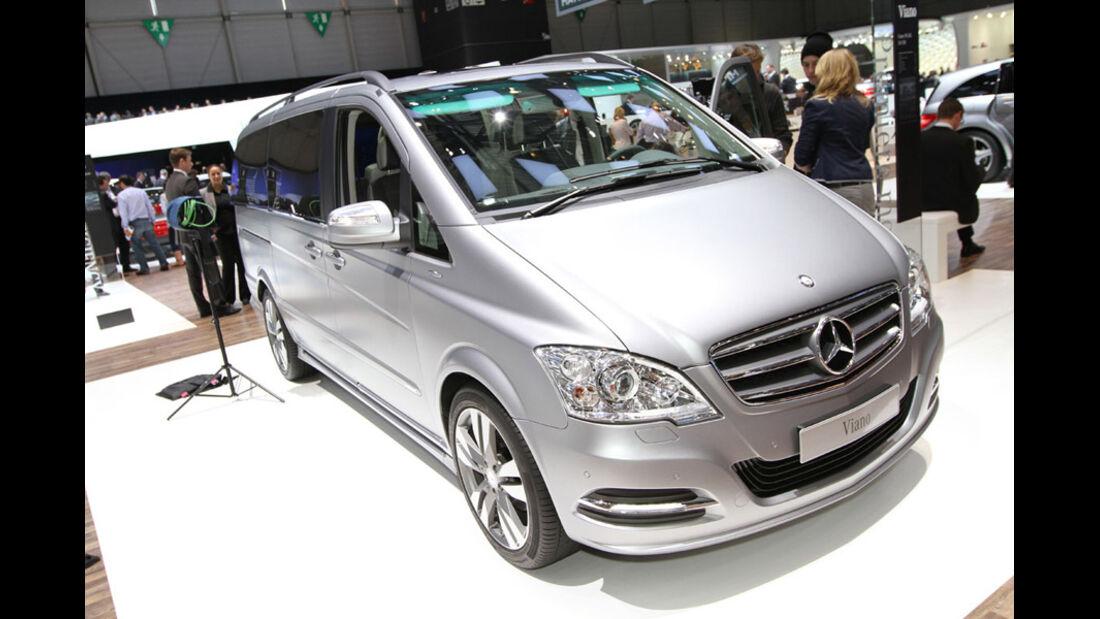 Mercedes-Benz Viano, Autosalon Genf 2012, Messe