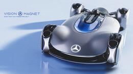 Mercedes-Benz Vision Magnet Concept Design Rennserie