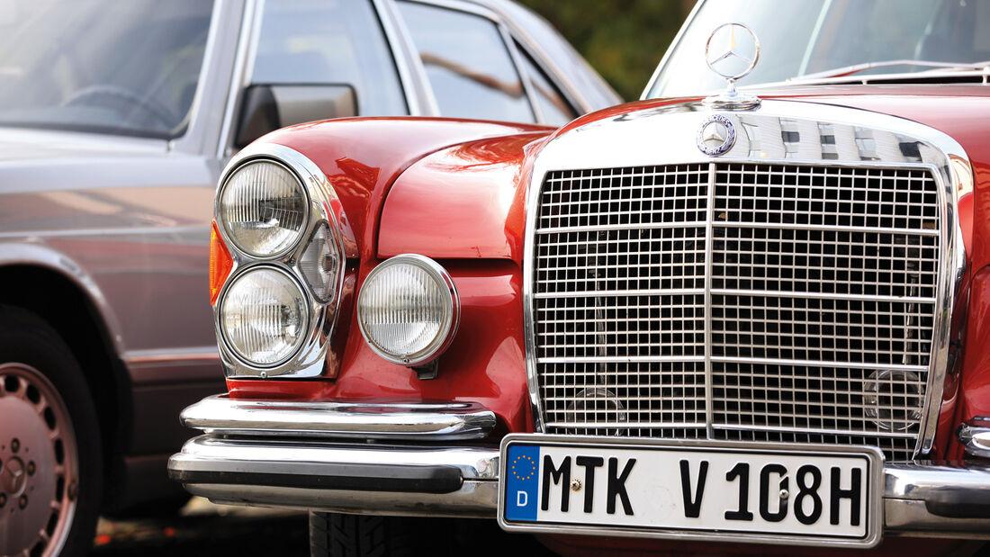 Mercedes-Benz W 108, Kühlergrill