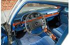Mercedes-Benz W 116, Cockpit, Lenkrad