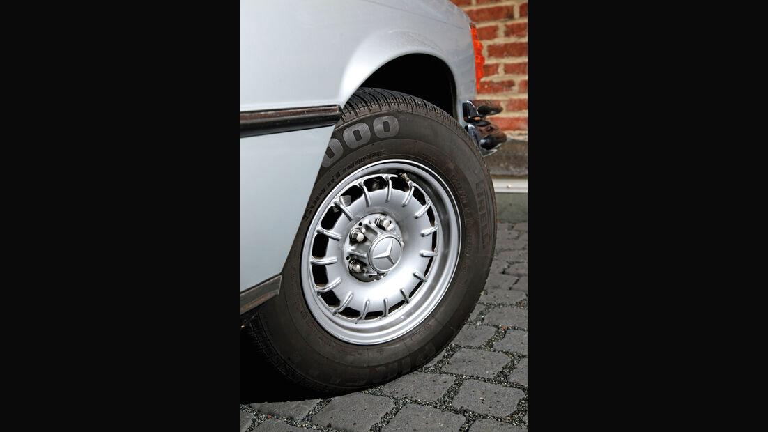 Mercedes-Benz W 116, Rad, Felge
