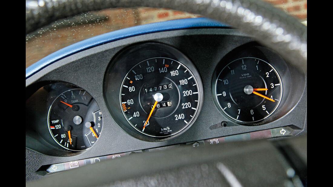 Mercedes-Benz W 116, Rundinstrumente