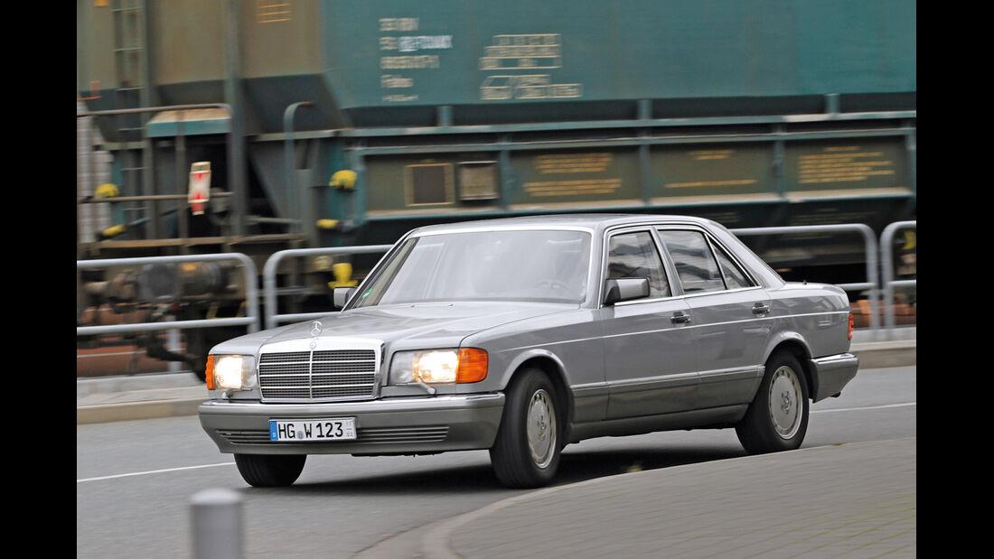 Mercedes-Benz W 126, Seitenansicht