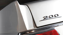 Mercedes-Benz W110, Typenbezeichnung, Heckleuchte