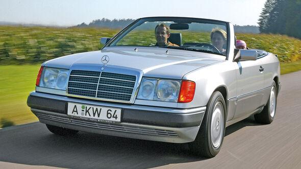 Mercedes-Benz W124 Cabrio, Frontansicht