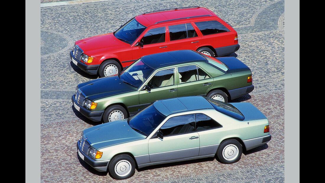 Mercedes-Benz W124 Coupé, Limousine, T-Modell (1987-1989)