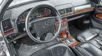 Mercedes-Benz W140, V8/V12, Cockpit