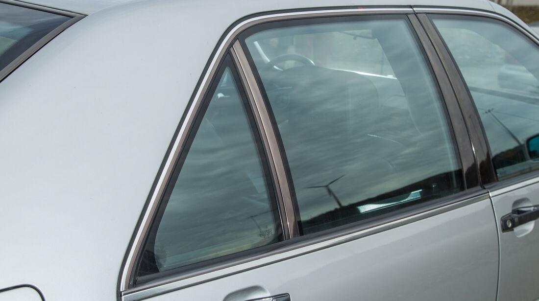 Mercedes-Benz W140, V8/V12, Fondfenster