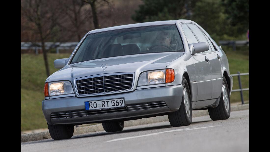 Mercedes-Benz W140, V8/V12, Frontansicht