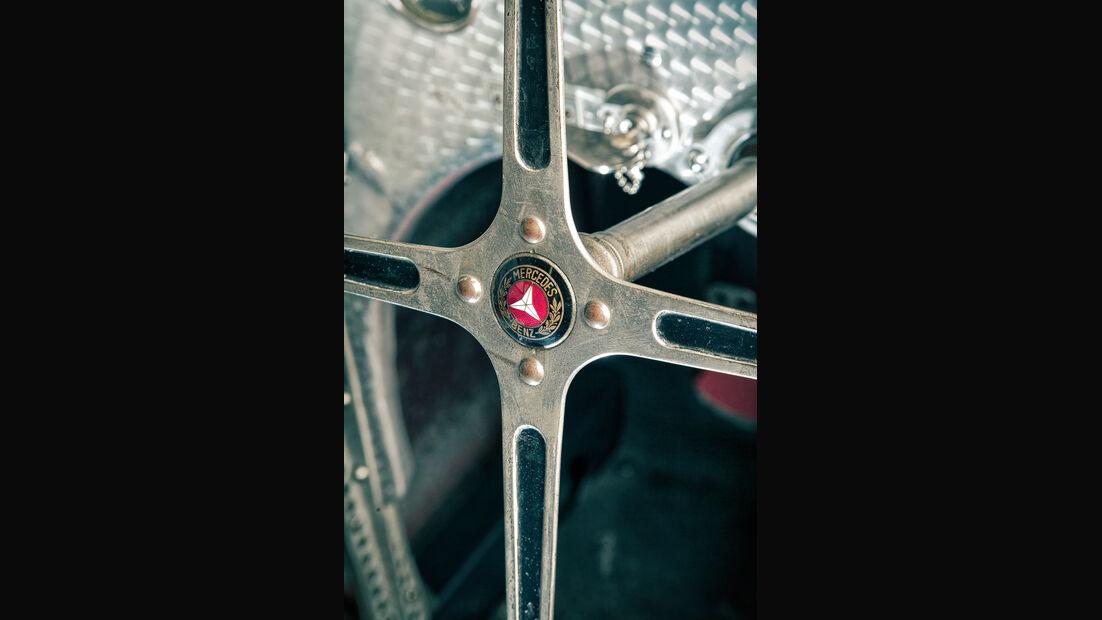 Mercedes-Benz W25, Silberpfeil, Lenkrad