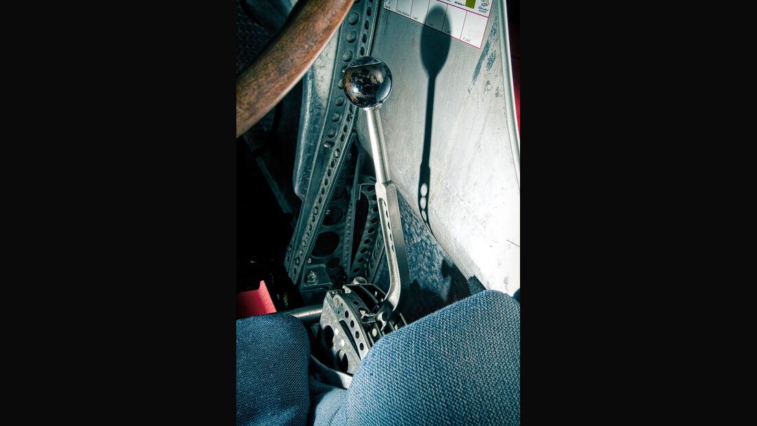 Mercedes-Benz W25, Silberpfeil, Schalthebel