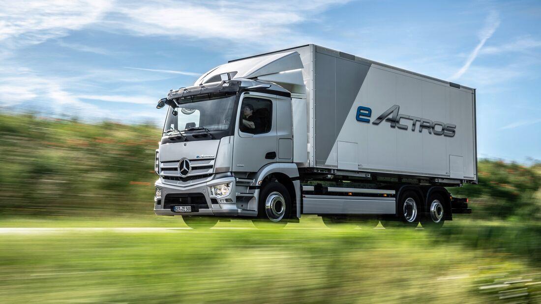 Mercedes-Benz eActros Weltpremiere 2021